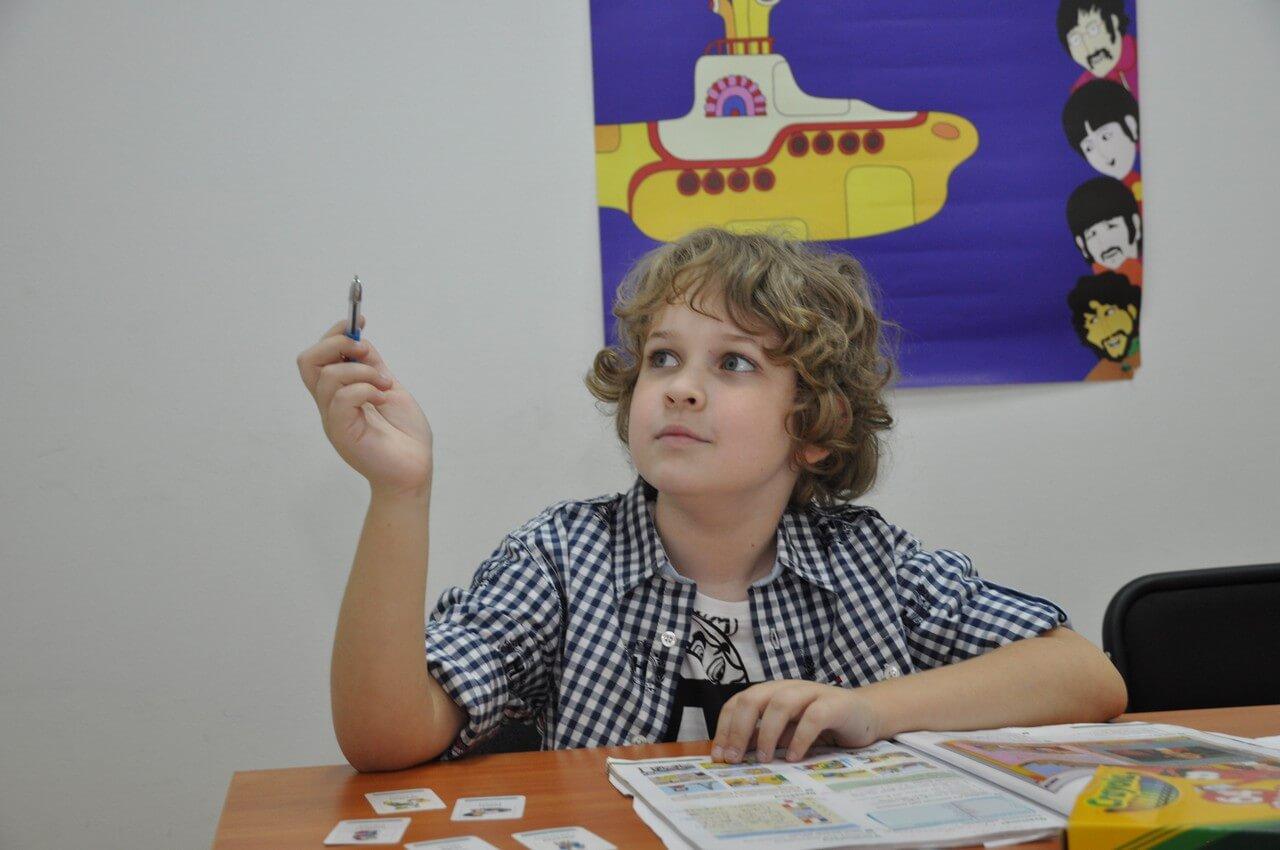 Студенты языковых курсов Yellow Submarine